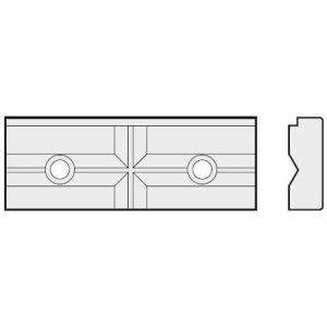 Homge kombinierte Stufen- und Prismen-Spannbacken 130 mm CB-HPAC-130