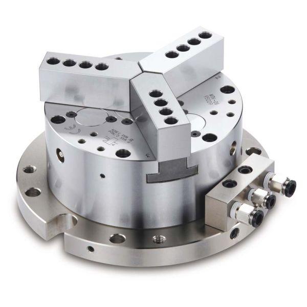 Chandox Pneumatischer Präzisions 3 Backen Spannstock Ø 101 mm MTK-04
