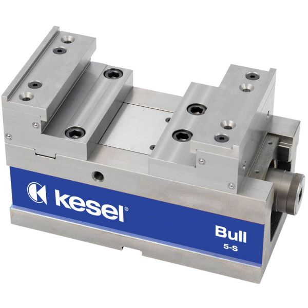 Kesel 5-Achs-Schraubstock BB = 125 mm Bull-5S